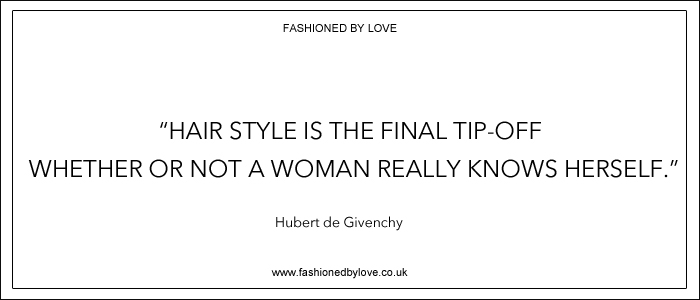 via fashioned by love | best fashion & style quotes | Hubert de Givenchy