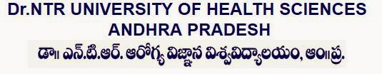 NTR University of Health Sciences Results 2013 - 2014