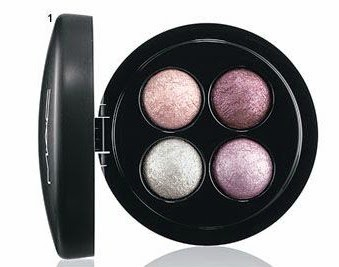 MAC mineralize eyeshadow X4 A party of pastels
