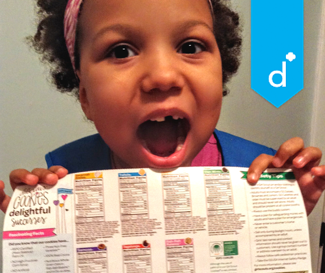 This Girl Scout Daisy will be a #CookieBoss