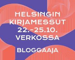 Helsingin kirjamessut verkossa 22. - 25.10.2020