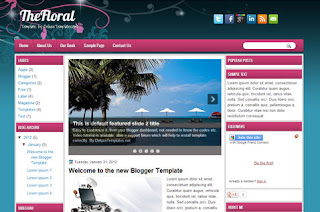 blogger template download free