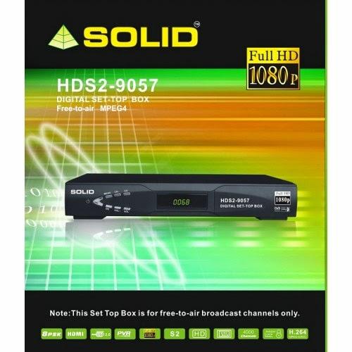 SOLID HDS2-9057 Digital MPEG-4 / DVB-S2 / Full HD Set-Top Box