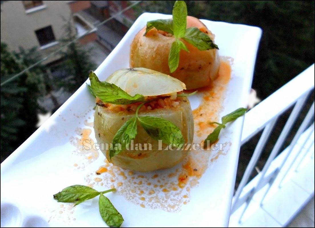 Zeytinyağlı Domates Dolması