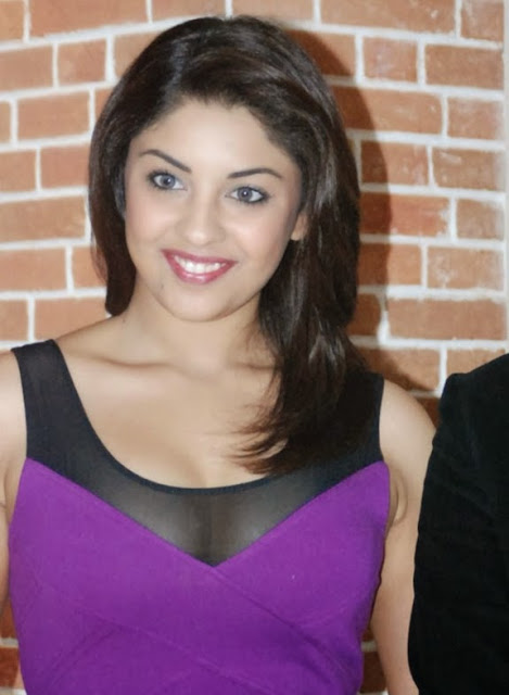 Richa Gangopadhyay In Perple Dress