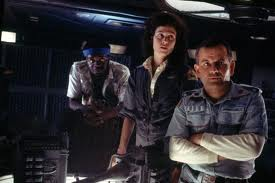 Parker, Ripley and Ash in Alien