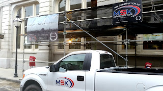 MSK Construction Banners and Vehicle Graphics | Banners.com