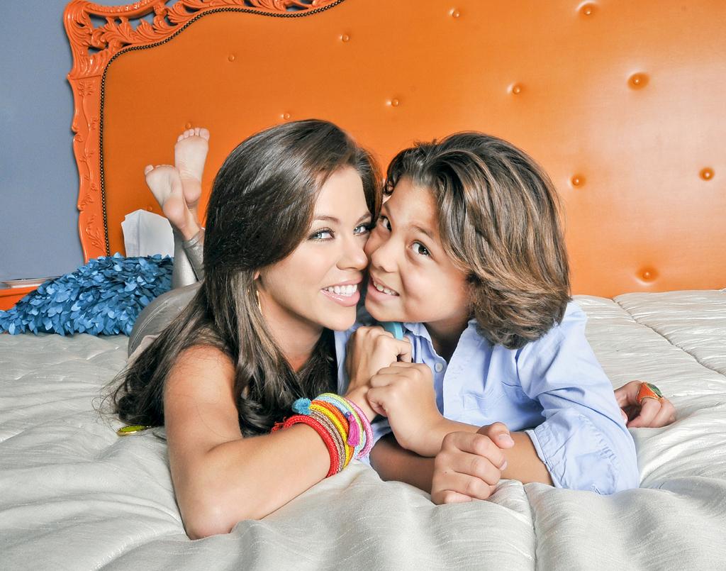 fotos ximena duque y su hijo telenovelas