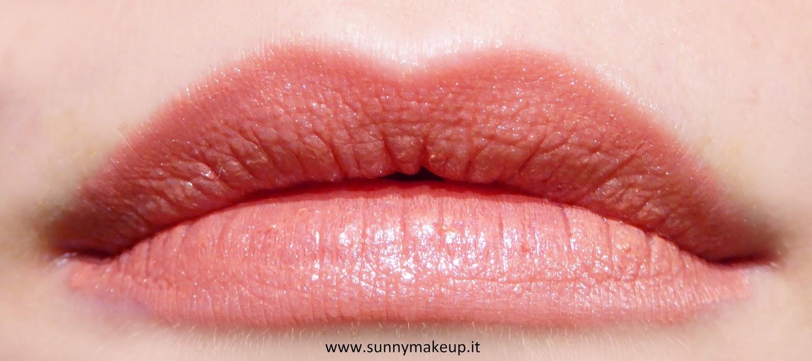 Rimmel London - Provocalips: Swatch e review del rossetto liquido effetto lacca 110 Dare to Pink