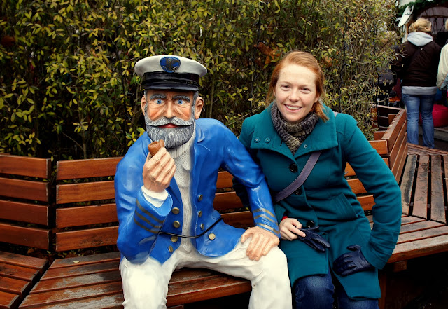 Making friends with a sailor - Cologne Harbour Christmas Market