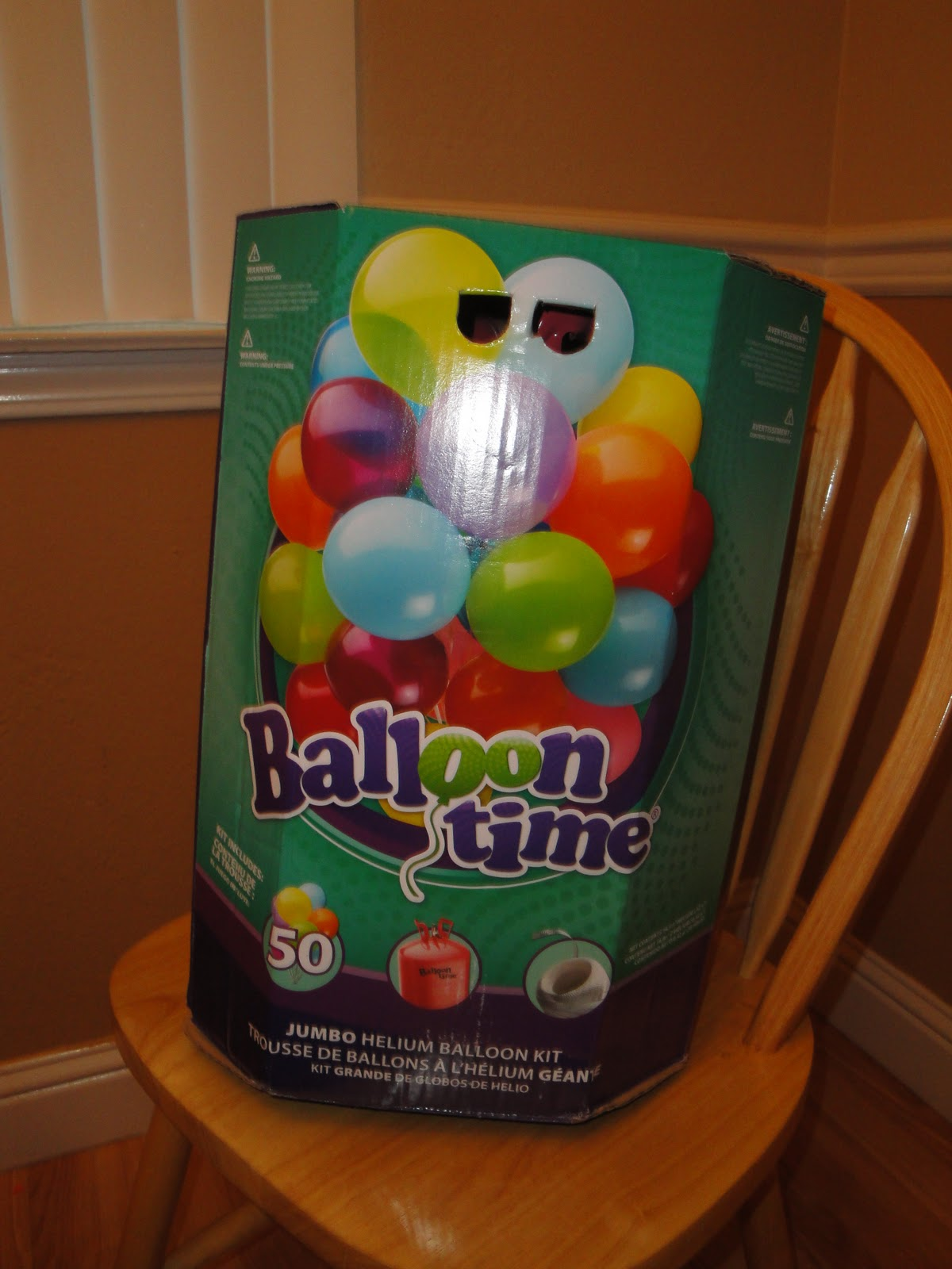 how to open balloon time helium tank