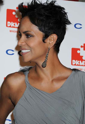 Halle Berry Dangling Crystal Earrings