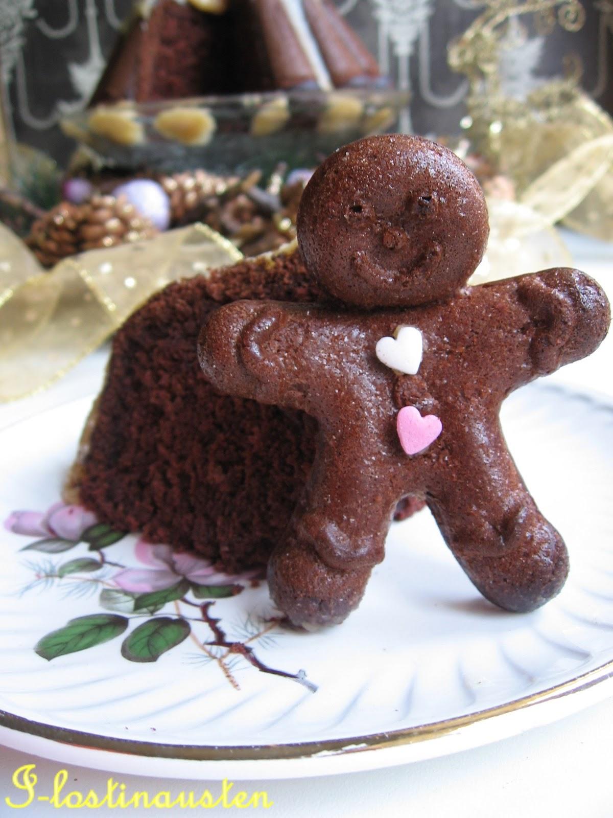 ... in Austen: Chocolate–Ginger Cake With Bourbon Sauce (Martha Stewart
