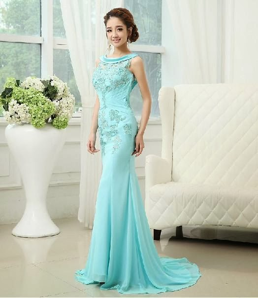 Tiffany blue special occasion dress - Fashion dresses