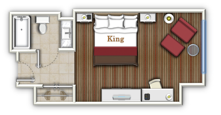Hotel suite layout for Hotel design layout