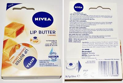 Masło do ust Nivea (karmel)