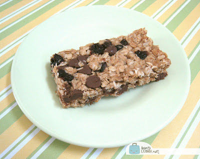 BentoLunch.net - Granola Bar Recipe, No Added Sugar, Nut Free