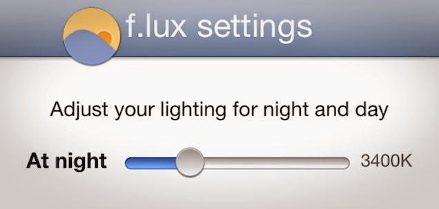 F.lux Brightness