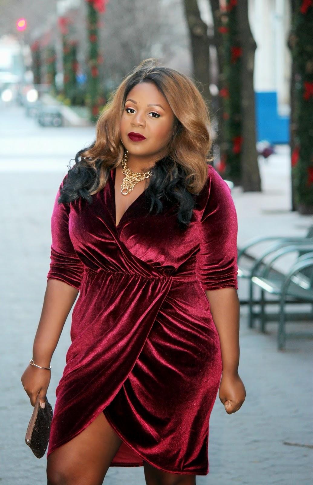 missguided velvet dress