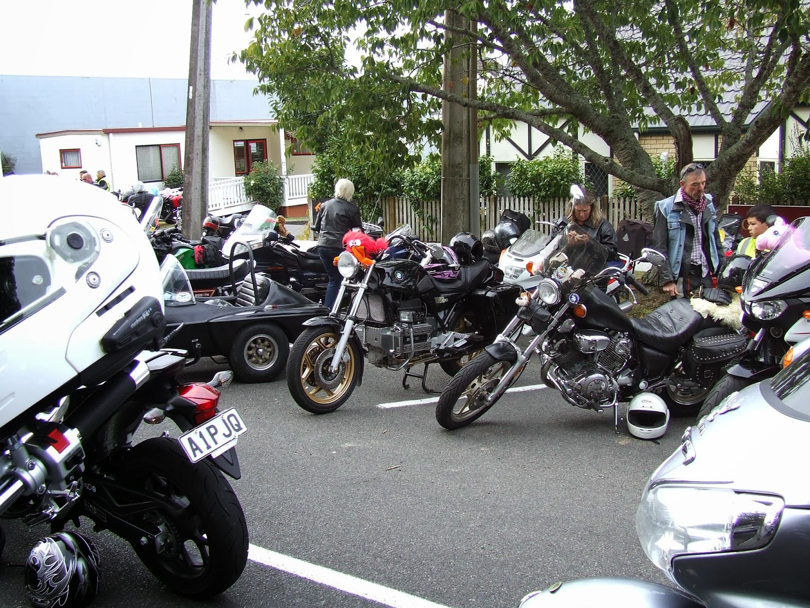 Toy Run Ulysses Waikato Chapter Cambridge - Hamilton NZ DSCF2886