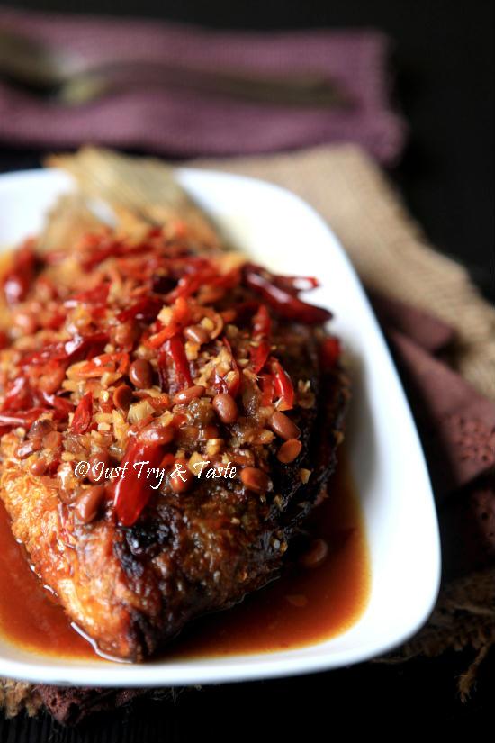 Resep Gurame Siram Tauco Sekilas Sharing Tentang Food Photography Just Try Taste