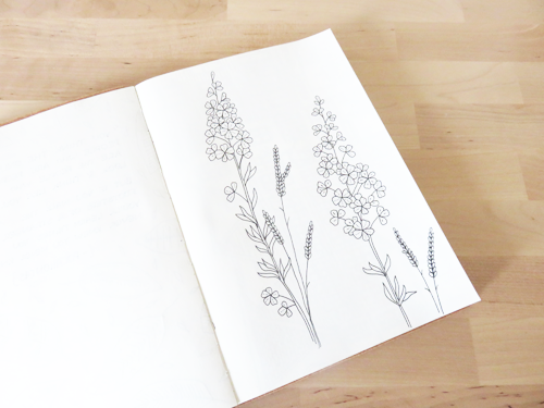 Emma Margaret Illustration Sketchbook 2015