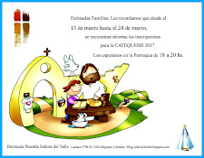 CATEQUESIS AÑO 2017