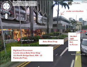 DigitLand Poster & Showroom Location