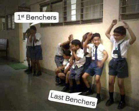 1st Benchers vs Last Benchers