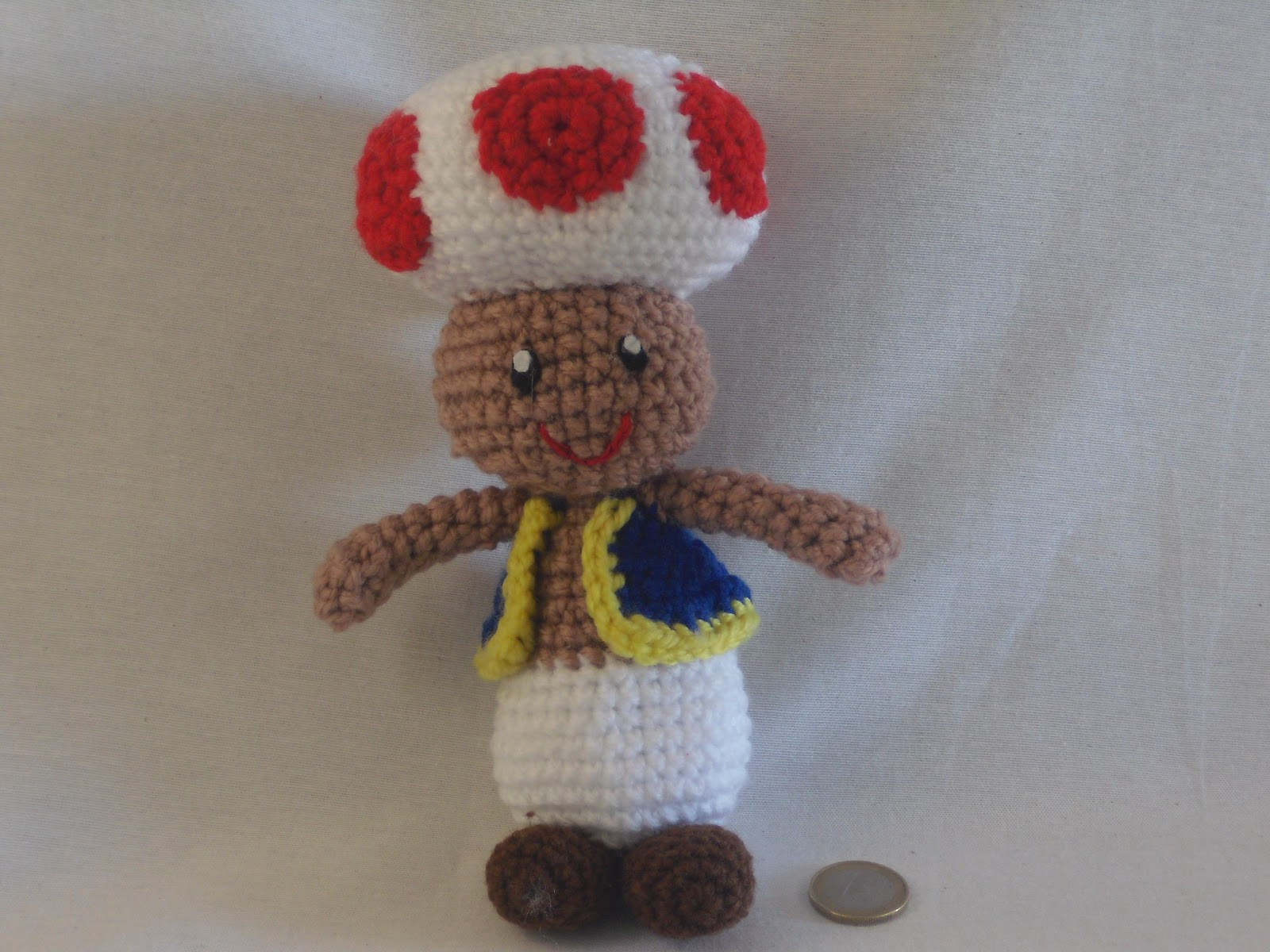 Patron Amigurumi Mario Bros En Espanol : Amigurumis en espanol: Toad amigurumi con patron en espanol.