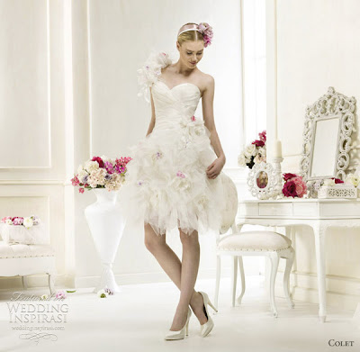 Short wedding dresses 2012 for Short wedding dresses 2012