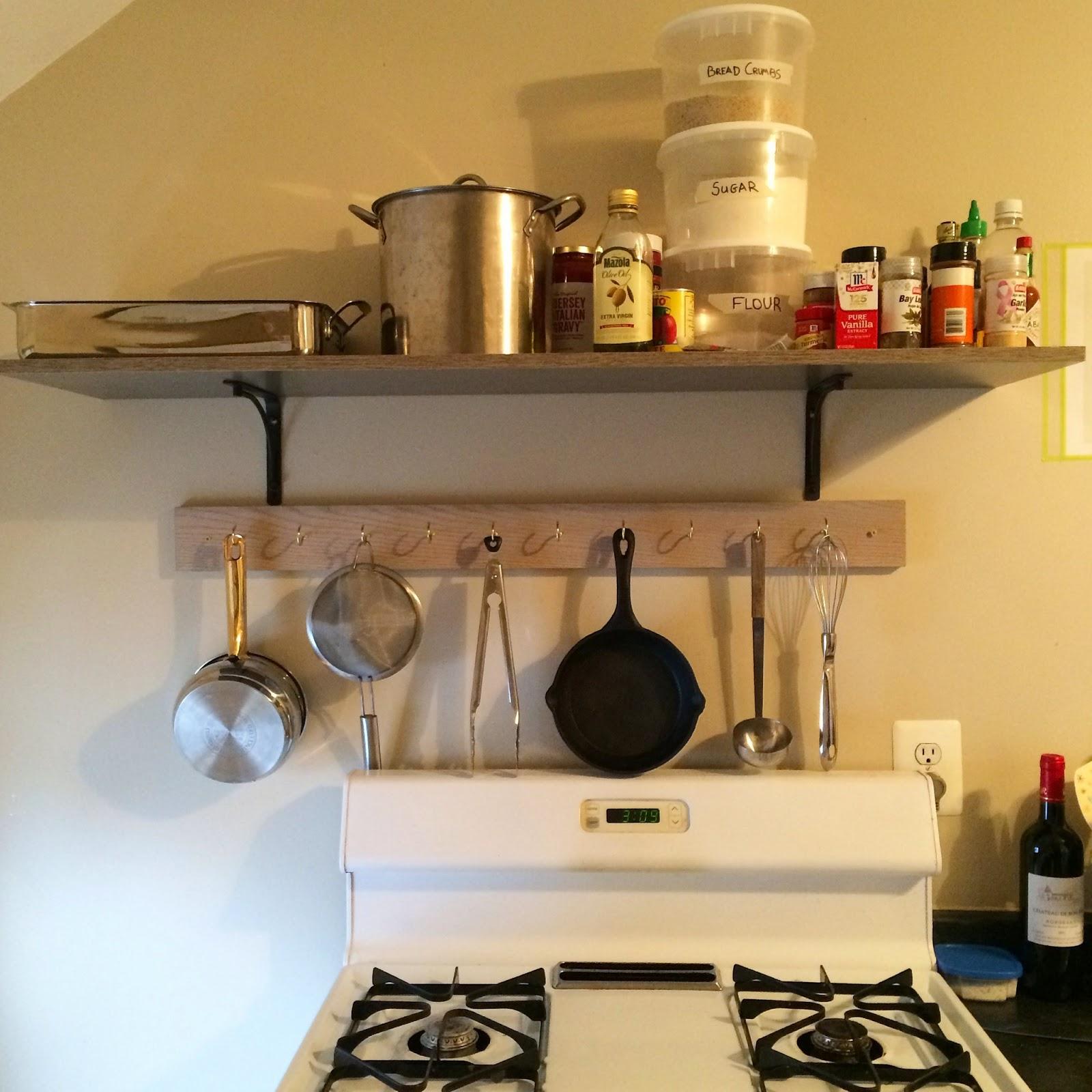Creatively Casey: DIY Pot Rack