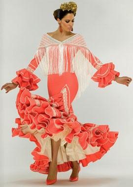 moda flamenca El Corte Inglés traje flamenca 2014