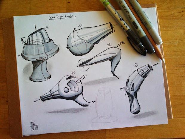 trelis design hair dryer - hand