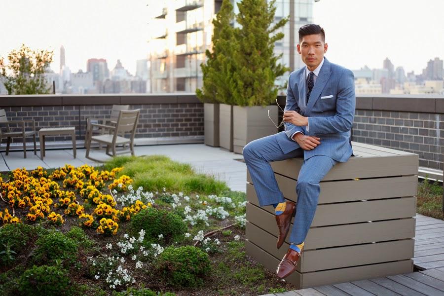 Combatant Gentlemen Suit, Levitate Style