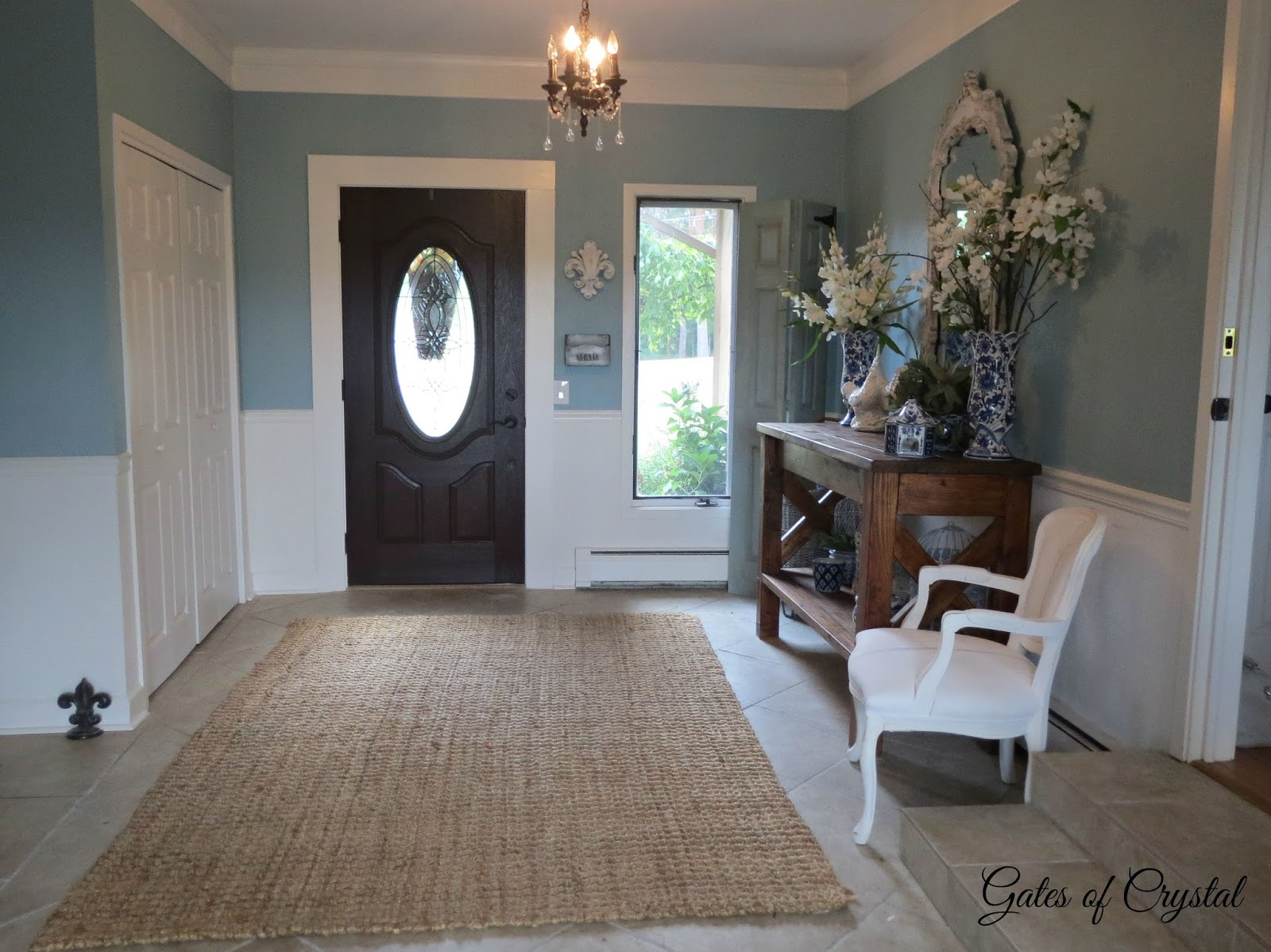 Gates Of Crystal A Formal French Rug