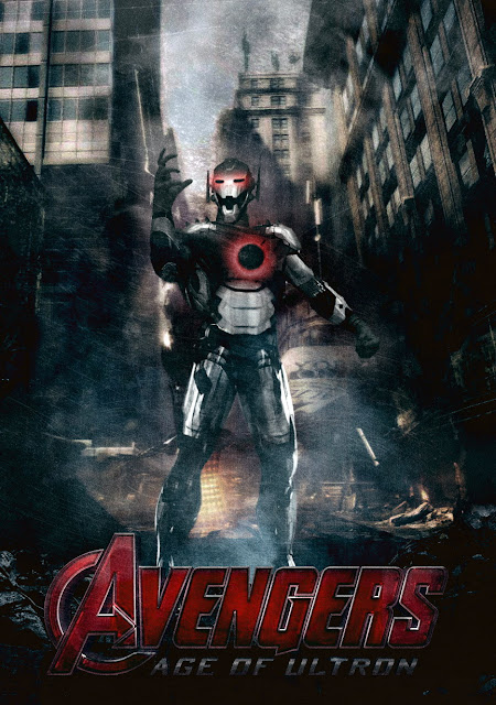 Ultron full size statue from the avengers age of ultron film movie