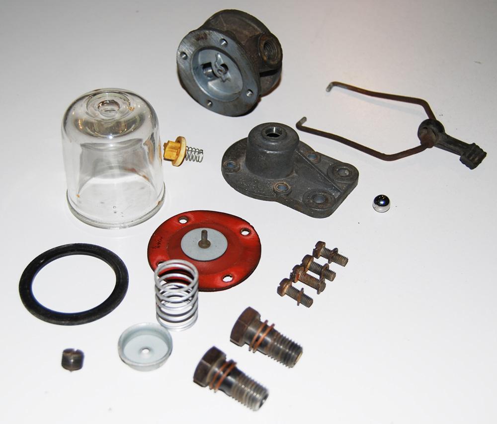 Dino 246 Restoration Blog: Italian functional art: The fuel filter /  pressure regulator
