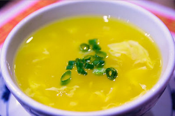 Low Calorie Egg Drop Soup