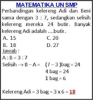 adalah contoh pembahasan soal matematika smp soal matematika smp