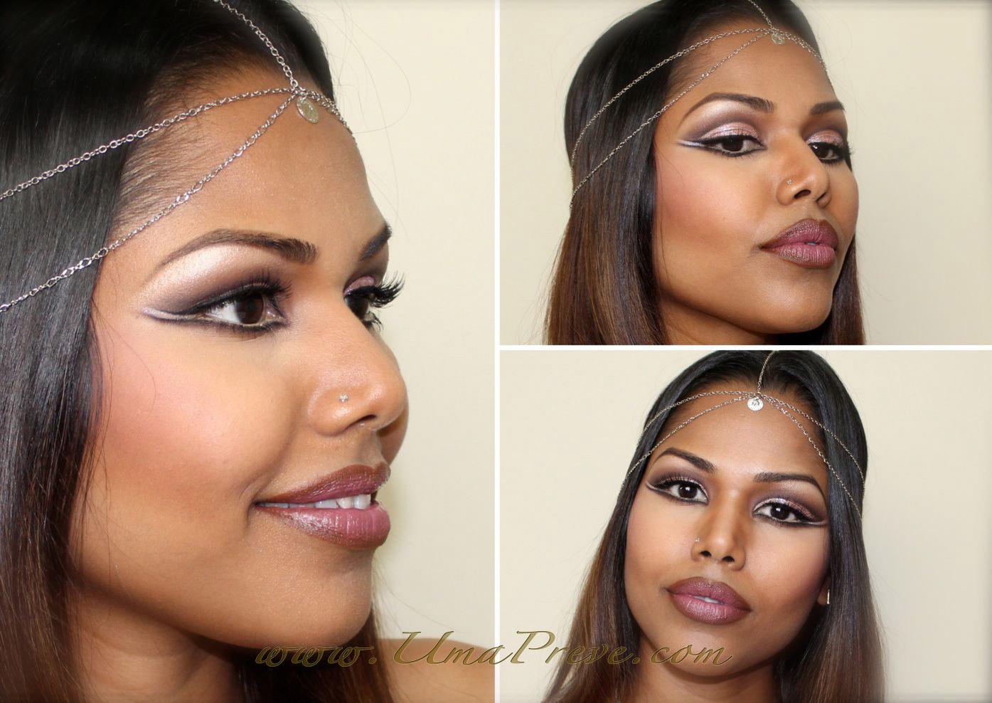 UmaPreve: Modern Egyptian Queen makeup (Halloween look)