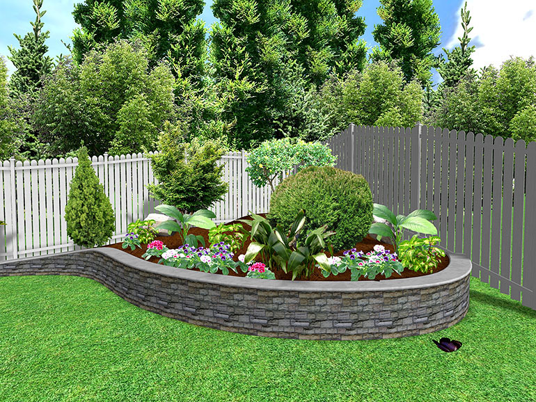 Flowers for flower lovers flowers garden designs ideas for Backyard flower garden designs