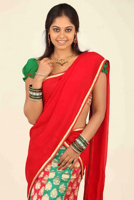 Bindu Madhavi in Half Saree