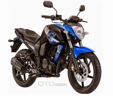 gambar motor yamaha byson biru