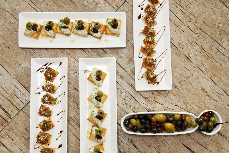 Il Ponticello Mozzarella in Caroza, Portobello ala Griglia,