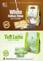 Introducing DXN White Coffee Zhino and DXN Lingzhi Tea Latte