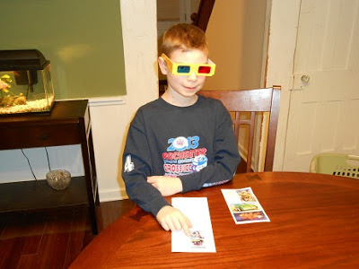 Playing with Zoom 3D Stickers from Peaceable Kingdom