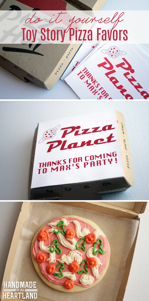 """made a version of the pizza planet label without the """"thanks for ..."""