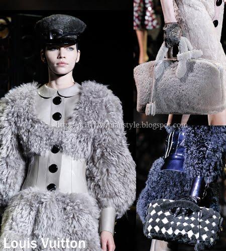 чанти от агнешка кожа и козина