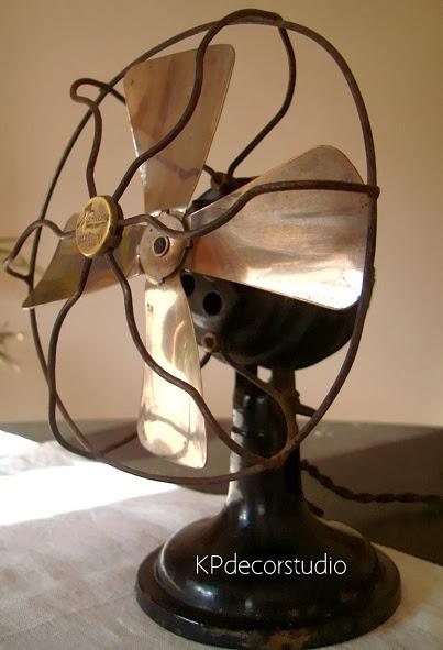 Ventiladores vintage restaurados y funcionando a corriente de 125 v modelo numax tn